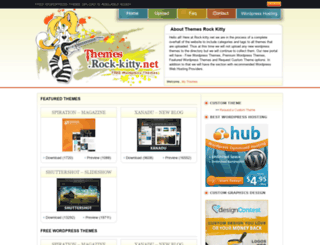 themes.rock-kitty.net screenshot
