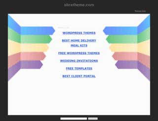 themes.slicetheme.com screenshot