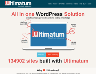 themes.ultimatumtheme.com screenshot