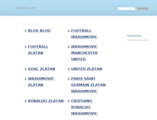 themes.zlatanblog.com screenshot
