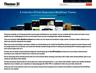themes21.net screenshot