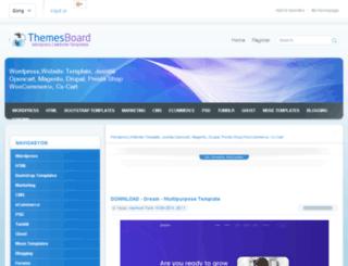 themesboard.com screenshot