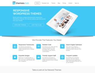 themesclub.com screenshot