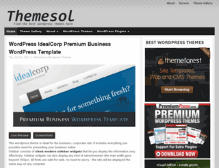 themesol.com screenshot