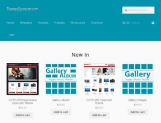 themesopencart.com screenshot