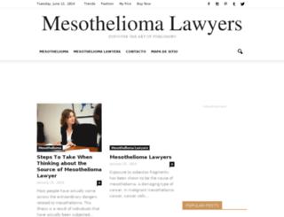 themesothelioma-lawyers.com screenshot