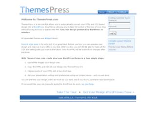 themespress.com screenshot