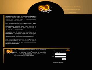 themessage2000.com screenshot