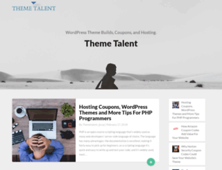 themetalent.com screenshot