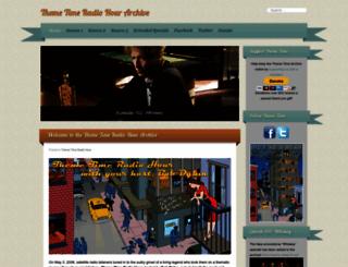 themetimeradio.com screenshot