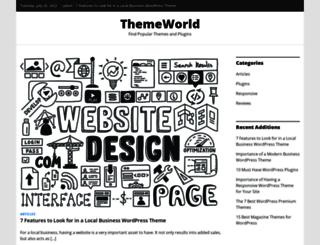 themeworld.org screenshot