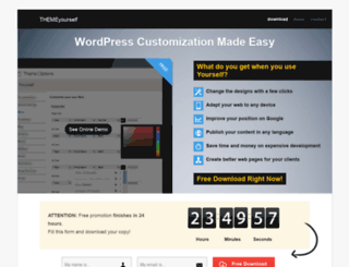 themeyourself.com screenshot