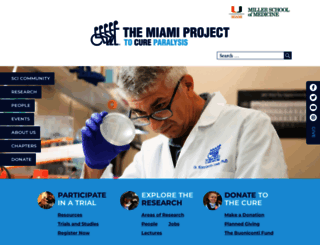 themiamiproject.org screenshot