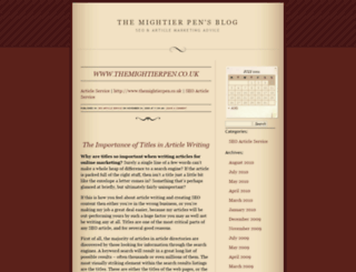 themightierpen.wordpress.com screenshot