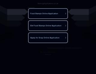 themightyshakers.co.uk screenshot