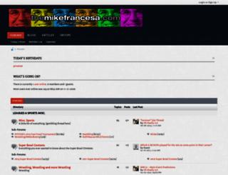 themikefrancesa.com screenshot