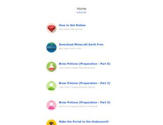 theminecraftgame.net screenshot