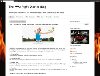 themmafight.blogspot.com screenshot