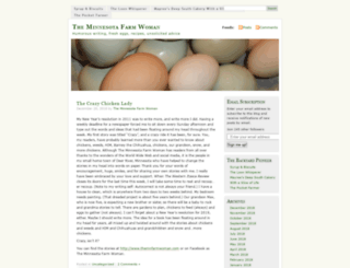 themnfarmwoman.wordpress.com screenshot