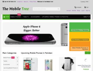 themobiletree.pk screenshot