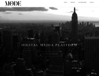 themode.net screenshot