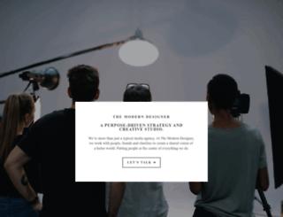 themoderndesigner.com screenshot