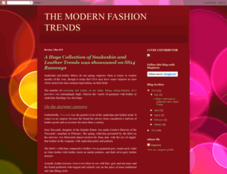 themodernfashiontrends.blogspot.in screenshot