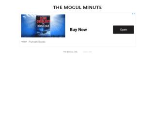 themogulminute.com screenshot