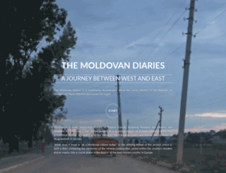 themoldovandiaries.com screenshot