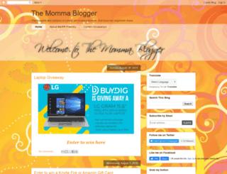 themommablogger.blogspot.com screenshot