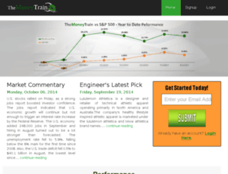 themoneytrain.com screenshot