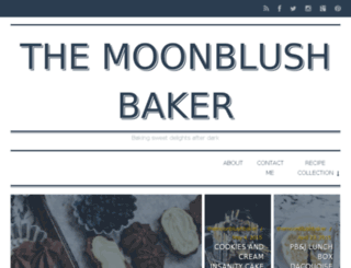 themoonblushbaker.blogspot.com.au screenshot