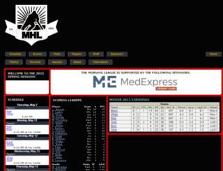 themorningleague.com screenshot