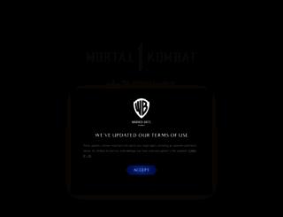 themortalkombat.com screenshot