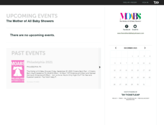themotherofallbabyshowers.ticketleap.com screenshot