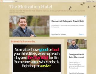 themotivationhotel.com screenshot