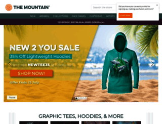 themountain.com screenshot