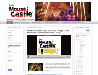 themousecastle.com screenshot