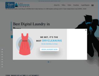 themoustachelaundry.com screenshot