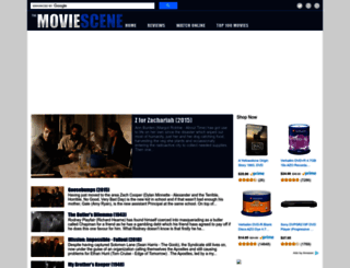 themoviescene.co.uk screenshot