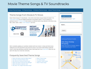 themoviethemesong.com screenshot
