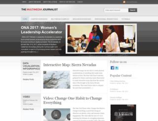 themultimediajournalist.net screenshot