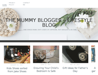 themummyblogger.co.uk screenshot