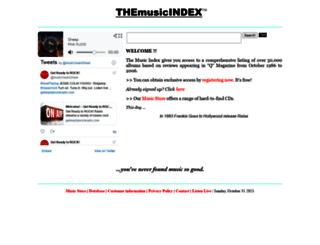 themusicindex.com screenshot