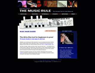 themusicrule.com screenshot