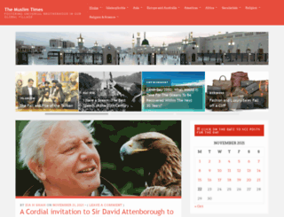 themuslimtimes.org screenshot
