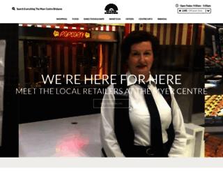 themyercentre.com.au screenshot