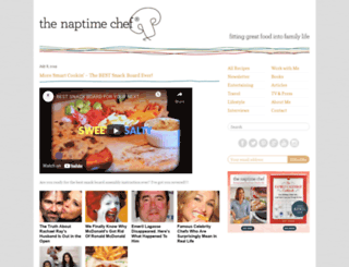 thenaptimechef.com screenshot