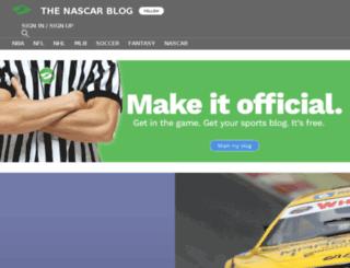 thenascarblog.sportsblog.com screenshot
