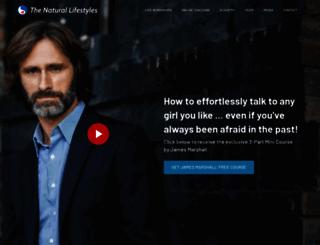 thenaturallifestyles.com screenshot